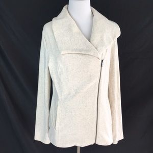 Banana Republic sweatshirt jacket size S